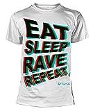 Photo de Fatboy Slim - Eat Sleep Rave Repeat Blur - Officiel Homme T-Shirt par Official