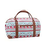 Best Overnight Bags For Women - 15 COLOURS Canvas Travel Holdalls - Weekend Overnight Review