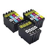 12 Stücke (6BK, 2C, 2M, 2Y) Tinten Für Epson 29xl 29 xl 29 Tintenpatronen Kompatibel Für Epson Expression Startseite XP-235 XP-245 XP-332 XP-335 XP-432 XP-435 XP-342 XP-345 XP-442 XP-445 XP-247