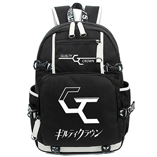 yoyoshome Anime Guilty Crown Cosplay Luminous bookag Rucksack Schultasche (Yuzuriha Inori Kostüm)