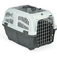 Skudo - Transportín con abertura superior para mascotas (Mediano/Variado)
