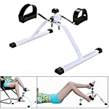 Exerciser Bike - Physiotherapy Pedal Mini Bike Arm and Leg Rowing Machine