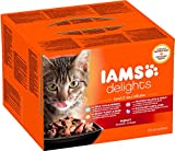 Iams Delights Land & Sea Collection in Gelee