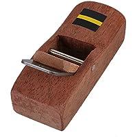 cnbtr 10cm marrón carpintero madera afeitado cepillo Mano Planer Shaver de carpintero avión endurecido hoja DIY madera herramienta de trabajo