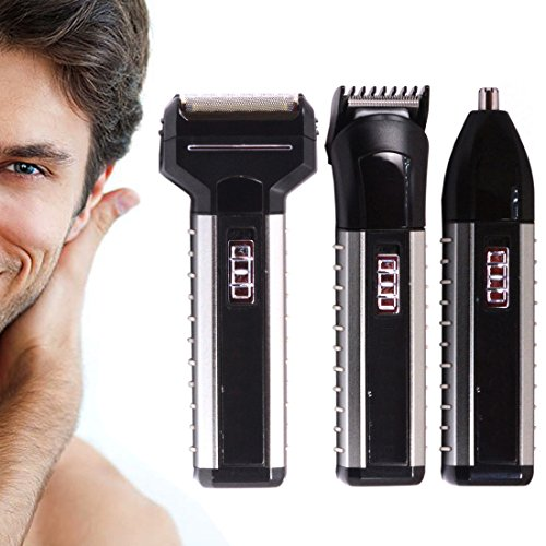 3 in 1 Rechargeable Maxel Cordless Ear Nose Mustache Beard Hair Trimmer 116  available at amazon for Rs.1249