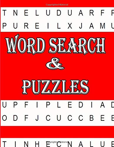 Word Search - Puzzles: Funster 200 Large-Print Word Search Puzzles  These Extra Large Print Word Search Puzzle Books with 200 Theme Puzzles have been specially designed and formatted por ja kiw
