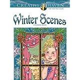 Creative Haven Winter Scenes (Creative Haven Coloring Books)