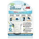 TubShroom, il rivoluzionario tappo di scarico e filtro cattura-capelli, bianco