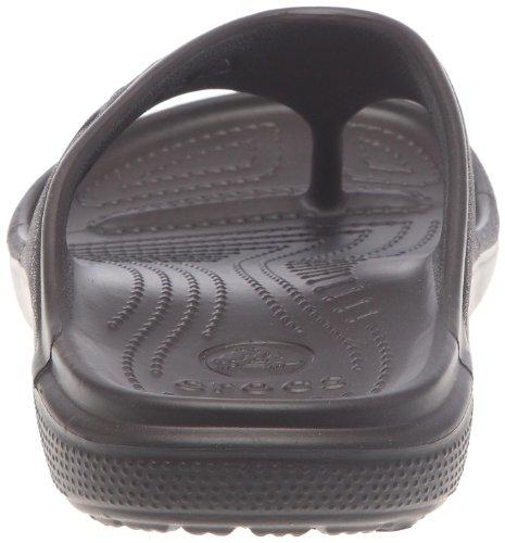 Crocs Baya Flip, Unisex-Erwachsene Zehentrenner Sandalen, Braun (Espresso)
