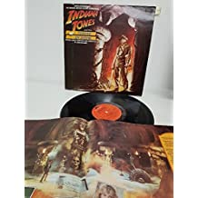 """JOHN WILLIAMS, indiana jones and the temple of doom the original motion picture soundtrack , POLH 8, 12"""" LP"""