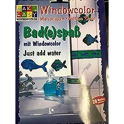 Bad(e)spaß mit Windowcolor - Just add water - 28 Motive - Mak Easy Windowcolor- Malvorlagen