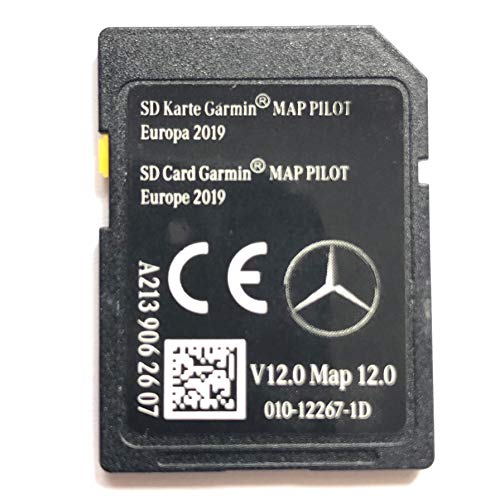 SD-Card Mercedes Garmin-Karte Pilot STAR2 v12 Europe 2019 - A2139062607