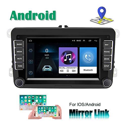Camecho Android Car Radio VW Navegación GPS 7 Pulgadas