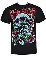 Bullet For My Valentine - T-Shirt - Skull Red Eyes