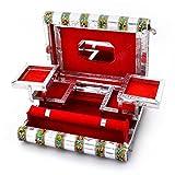 Handicrafts Gift House Colorful Mayur Meenakari Work Red - Best Reviews Guide
