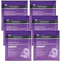 Neutrogena Ageless Boost idrogel Maschera, Confezione da (6X 10G)