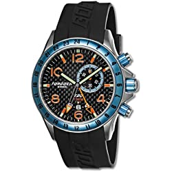 Torgoen Swiss Herren-Armbanduhr T20303 Analog plastik schwarz T20303