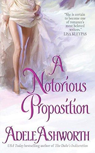 Portada del libro A Notorious Proposition (Winter Garden series) by Adele Ashworth (2008-04-29)
