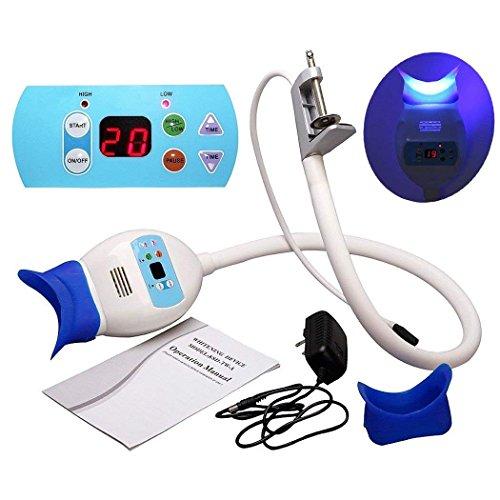 TFGIRL Dental Teeth Whitening Bleaching Light Lamp Accelerator Hält Auf Tabelle LED Zahnweiß-Maschine