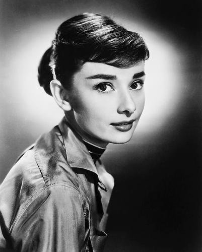 moviestore Audrey Hepburn 25x 20cm bianco e