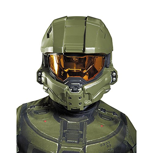 Disguise Master Chief Child Half Mask Costume by Disguise (Master Chief Kinder-kostüm)