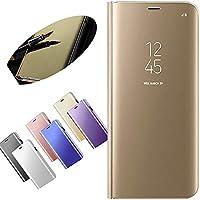 Nadoli für Xiaomi Redmi 5 Plus Spiegel Hülle,Mirror Effect PU Leder Hülle Transparent Case Cover Handytasche Book... preisvergleich bei billige-tabletten.eu