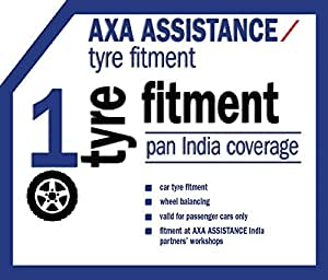 AXA Car Tyre Fitment for 1 Tyre
