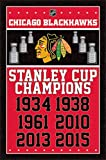 Chicago Blackhawks - Champions 2015 Poster (60.96 x 91.44 cm)