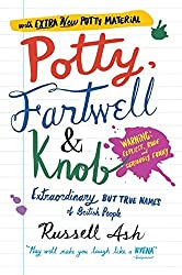 Potty, Fartwell and Knob: From Luke Warm to Minty Badger - Extraordinary But True Names of British People by Russell Ash (2008-10-02)