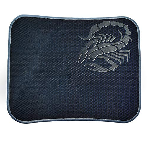 Riatech Mouse Pad, Water Resistance Coating Natural Rubber Gaming Mouse Pad With Stitched Edges And Non Slippary Rubber Base