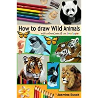 How to Draw Wild Animals With Colored
