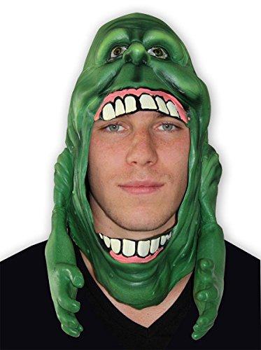 Close Up Ghostbusters Maske Slimer aus Kunststoff für Erwachsene (Slimer Ghostbusters Halloween-kostüm)