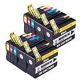 PerfectPrint Kompatibel Tinte Patrone Ersatz für HP Officejet 6100 6600 6700 7110 7510 7610 7612 932XL 933XL (Schwarz/Cyan/Magenta/Gelb, 10-Pack)