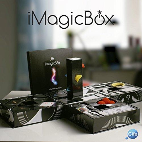 Cife-41197 Caja con Diferentes Juegos de Magia, con Acceso a, Color Negro, Sin Talla (41197)