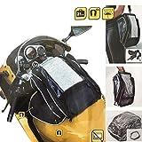 4-Magnetsystem 21 Liter Motorradtasche Motorrad Tankrucksack Tanktasche Magnettasche mit Schultergurt