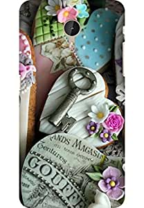 AMEZ designer printed 3d premium high quality back case cover for LeEco Le Max Pro (Hearts cookies gifts holiday love keys)