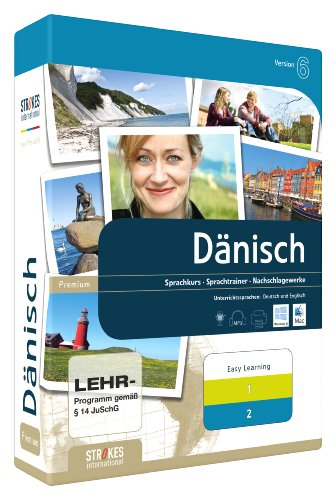 Strokes Easy Learning Dänisch 1+2 Version 6.0
