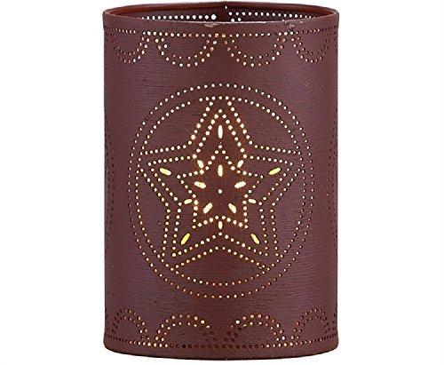 Park Designs Punch Star Sleeve Wine Kerzenhalter aus Eisen, 15,2 cm Höhe x 10,2 cm Durchmesser Park-designs, Eisen