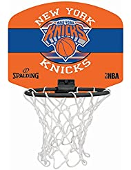 Spalding NBA Miniboard NY Knicks 77-655Z Minicanasta, Unisex, Multicolor, Talla Única