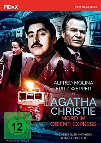 Agatha Christie: Mord im Orient-Express/Spannender Verfilmung des gleichnamigen Krimi-Bestsellers mit Starbesetzung (Pidax Film-Klassiker)