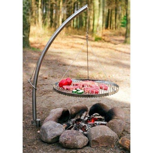 NIELSEN OUTDOOR Camp Fire mit Grillrost, Ø60cm