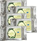 #5: GINNI CLEA Cleansing & Make-up Remover Wipes (Cucumber) (pack of 5 ) (30 wipes per pack)