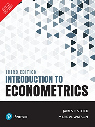 Introduction To Econometrics, 3Rd Edition