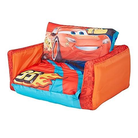 Disney Cars - Ausziehbares Minisofa – Aufblasbares Sofa und Liegestuhl