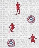 FC Bayern München Tapete Vliestapete (1.99 Euro / Meter)