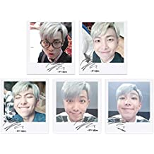 BTS bangtan Boys fancafe Rap Monster Self Wide Polaroid Photo Set