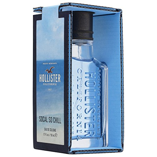 Hollister So Cal So Chill for Men 50 ml Cologne Spray, 1er Pack (1 x 50 ml) - Parfüm Hollister