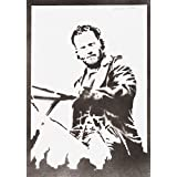 Rick Grimes The Walking Dead Handmade Street Art - Artwork - Poster