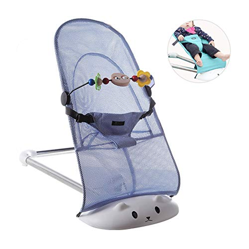 Babywippe Baby-Schaukelstuhl Baby-Bouncer-Stühle Neugeborenes mit beruhigenden Vibrationen Geeignet von Geburt 0 bis 24 Monate