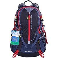 EGOGO 30L Wasserdicht Wanderrucksack Camping Rucksack mit Regenschutz Laufen Radfahren im Freien S2310